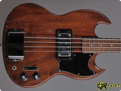 Gibson Eb 4l (longscale) 1973 Natural