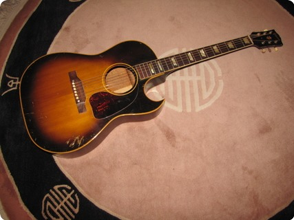 Gibson Cf 100 1956 Tobacco Sunburst