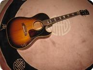 Gibson-CF 100-1956-Tobacco Sunburst