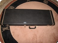 Fender Stratocaster And Telecaster Case 1964 Black Orange
