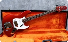 Fender Jazz 1966 Candy Apple Red