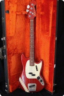 Fender Mustang Competition 1968 Red