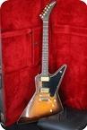 Gibson Explorer II E2 1982 Sunburst Flame Top
