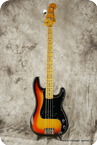 Fender Precision Bass 1979 Sunburst