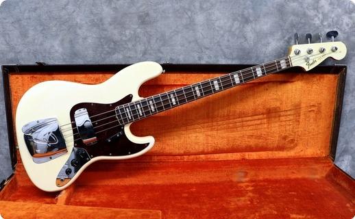 Fender Jazz 1966 Olympic White
