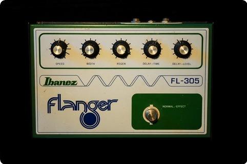 Ibanez Fl 305 1976 Green / White