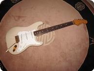 Fender Stratocaster 1988 Translucent Blond Over Ashgold Hdwr
