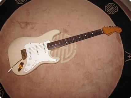 Fender Stratocaster 1988 Translucent Blond Over Ash/gold Hdwr