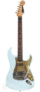 Waterslide Coodercaster S Style Sonic Blue