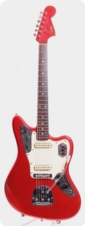 Fender Jaguar 66 Reissue Matching Headstock 1998 Candy Apple Red
