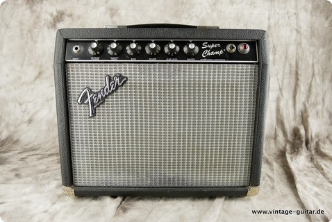 Fender Super Champ 1982 Black