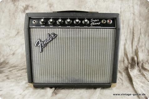 Fender Super Champ 1982 Black