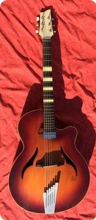 Framus 5/68 Cutaway 1955 Violin Sunburst