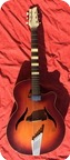 Framus 568 Cutaway 1955 Violin Sunburst
