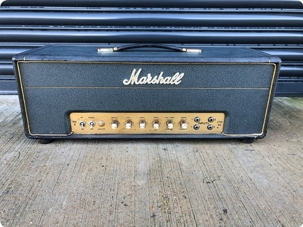 Marshall Jtm 45 Mkii Head 1967 Green/black