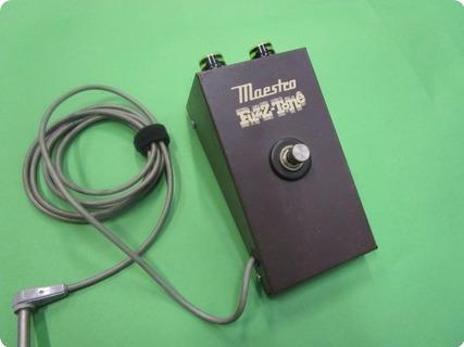 Gibson Maestro Fuzztone Fz 1a 1965 Brown