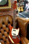 Fender Mustang Competition 1969 Red Matching Headstock