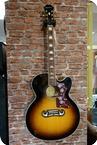 Epiphone EJ 200SCE Jumbo Ac. El. Guitar Vintage Sunburst Vintage Sunburst