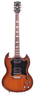 Gibson Sg Standard 2001 Natural Burst