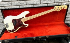 Fender Precision Bass 1972 Olympic White