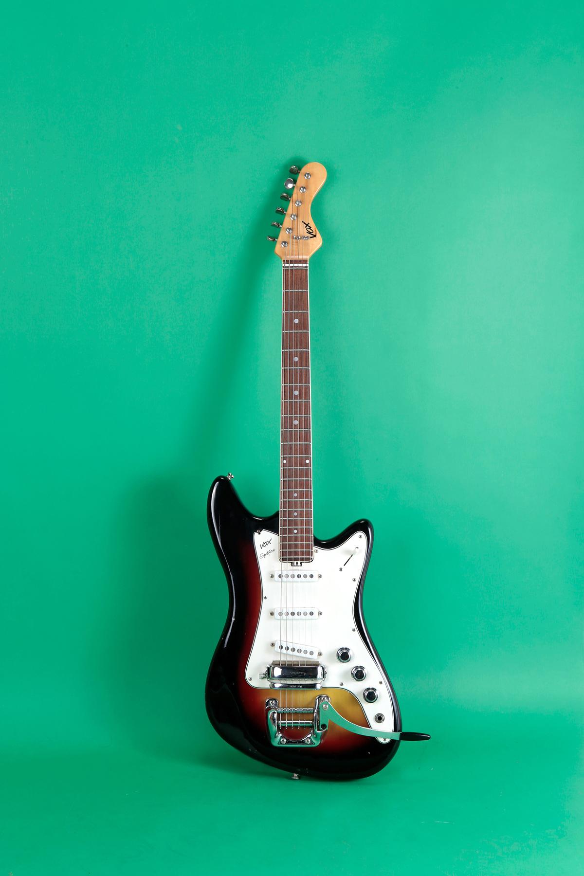 Vox Spitfire 1966 Sunburst Guitar For Sale Jay Rosen Music