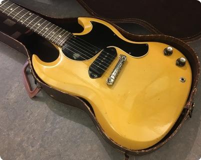 Gibson Sg Les Paul Junior Tv Yellow 1961 Tv Yellow
