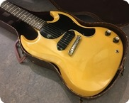 Gibson-SG Les Paul Junior TV Yellow-1961-TV Yellow