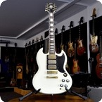 Stagg SG Custom 1975 White