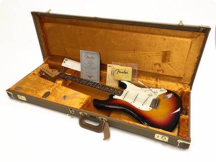 Fender Stratocaster Custom Shop 59 Relic 'jeffocaster' 2012 Sunburst