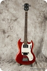Gibson Melody Maker Burgundy Mist