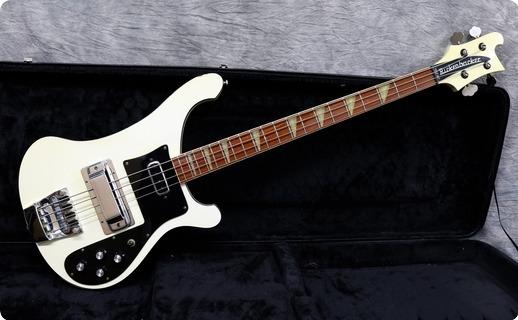 Rickenbacker 4001 1977 White