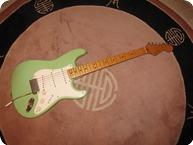 Fender-Stratocaster 57 RI-1989-SURF GREEN