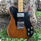 Fender-Telecaster Custom-1979-Mocha Brown