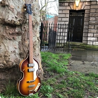 Hofner 500/1 Cavern Bass Reissue Ex Joe Dunn 2000 Sunburst