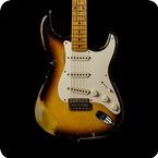 Fender Stratocaster 57 Relic 2010 2 Tone Sunburst