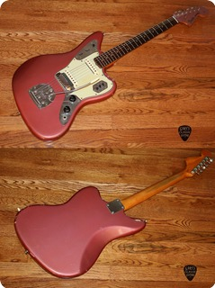 Fender Jaguar (fee1046)  1964 Burgundy Mist