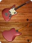 Fender-Jaguar (FEE1046) -1964-Burgundy Mist
