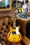 Epiphone Riviera Sunburst With Hardcase 1968 Sunburst