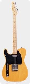 Fender Telecaster '72 Reissue Lefty 1990 Natural