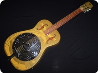 Dobro Hula Blues Duolian 1987 Sunburst