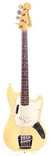 Fender Mustang Bass 1974 Olympic White