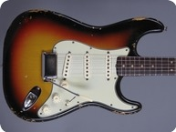 Fender-Stratocaster-1964-3 Tone Sunburst