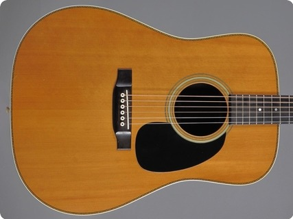 Martin Hd28 1976 Natural Spruce/ Rosewood