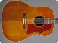 Gibson J45 1966 Cherry Sunburst