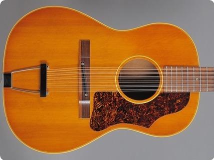 Gibson B25 12 1967 Natural Spruce /mahogany
