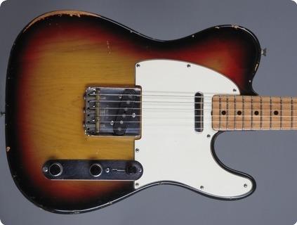 Fender Telecaster 1972 3 Tone Sunburst