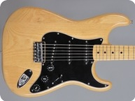 Fender-Stratocaster Hardtail-1976-Natural Ash