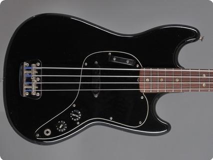 Fender Musicmaster Bass 1978 Black