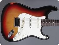 Fender-Stratocaster Hardtail-1974-3 Tone Sunburst