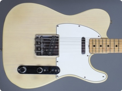 Fender Telecaster 1973 Blonde Ash Transparent White